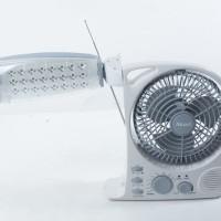 Jual LAMPU EMERGENCY LED + KIPAS 8