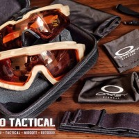 Kacamata Tactical oakley apaha combo goggle 3 lens outdoor sunglasses