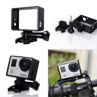 Jual Frame with Buckle Basic Mount and Screw for GoPro HD Hero3 dan 4 Murah