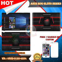 Original Garskin Laptop Full Body Asus ROG GL553 Series Motif Gamer