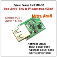 Kit Driver Power Bank DC-DC Step Up to 5V 600 mA