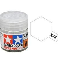 Tamiya Acrylic Paint X 35 Semi Gloss Clear