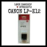 BATERAI BATTERY CANON LP-E12 LPE12 LPE 12 FOR EOS M M2 M10 100D SL1 X7