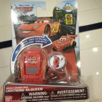 Hatch n Heroes Cars World Grand Prix Lightning McQueen Disney Bandai