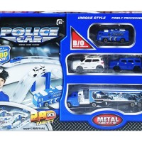 MAINAN TRACK MOBIL POLISI POLICE CAR MIND AND HAND 557-32