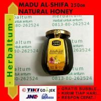 madu al Shifa 250gr (madu arab, import, izin BPOM)