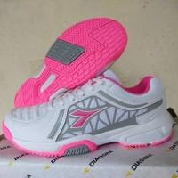 Asli DIADORA Original. ADVANTAGE PNK. Sepatu Olahraga Tenis Tennis