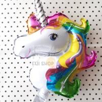 Balon Foil Unicorn / Pegasus Rainbow Mini Size