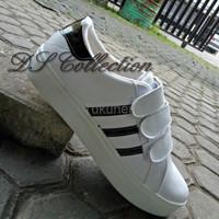 Jual Sepatu Wanita Cewek Adidas Replika 3 Stripe Terbaru Murah