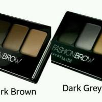 Jual Maybelline Fashion Brow Palette Dark Grey Murah