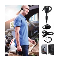 New Wireless Bluetooth Headset for Sony PS3 Game Console Black - Promo