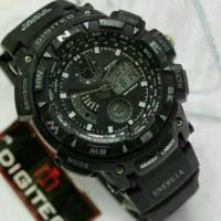 Jam Tangan Pria Digitec Original 2044T Dualtime