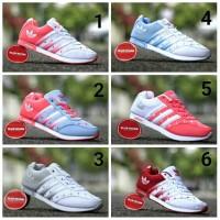 Sepatu Adidas Neo Motif Love Barang Impor Vietnam foto real pict 100%