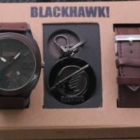 Jam Tangan Pria / Jam Tangan Cowok / Blackhawk Set / Brown
