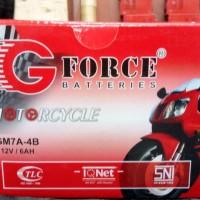 aki motor GM7A-4B untuk motor honda cbr 150 dan kawasaki ninja 250