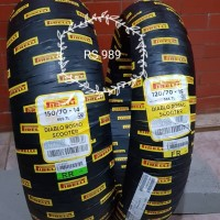 Pirelli DIABLO ROSSO SCOOTER 150/70 -14 & 120/70 - 15 for Yamaha XMAX