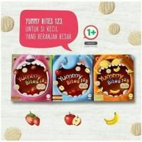 Jual Yummy bites 1 2 3 / Yummy bites toddler / Cemilan Bayi / snack bayi Murah