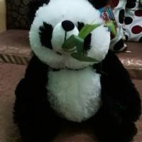 Jual boneka panda rumput ukuran L Murah