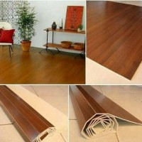 Karpet Lantai Plywood / Karpet Kayu / Karpet Unik / Natural Karpet