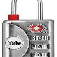 Gembok Koper YALE / Travel Lock YALE YTP 1/32/119/1