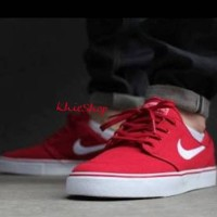 SALE ORIGINAL BNIB NIKE STEFAN JANOSKI CANVAS RED
