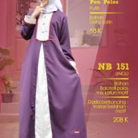 nibras gamis nb 151 ungu