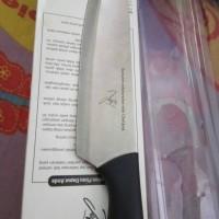 pisau dapur limited edition exlusiv ttd chef juna by oriflame