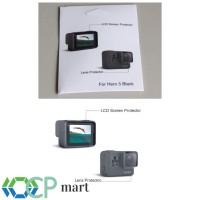Lcd Screen + Lens Protector (anti Gores) Gopro Hero 7 hero 6 5 Black