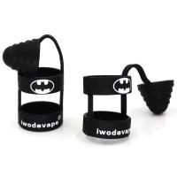 Batman Rubber Band Vape dengan Drip Tip Cap