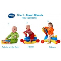 Vtech 3 in 1 Smart Wheels, Grow and Go Ride On