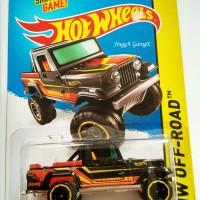 Hot wheels Jeep Scrambler Hitam