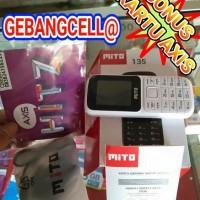 Hp Mito 135 Baru Dual Sim - FM Radio - Slot Memori - Mp3 - Murah