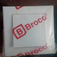 SAKLAR INBOW BROCO ENGKEL / TUNGGAL   SERI PLANO