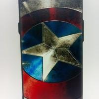 Soft Case 3D 360 Full Cover Captain America Casing HP Oppo F1S F A59
