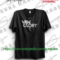 Kaos Distro Sablon Polyflex Vain Glory Vainglory Logo