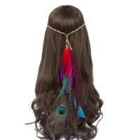 Headband Headpiece hiasan ikat kepala rambut bulu indian flower crown