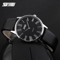 Jam Tangan Pria / Ultra-thin Quartz / SKMEI 9092 ORIGINAL