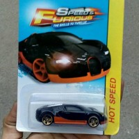 Diecast 1/64 Need For Speed Bugatti Veyron (BNIB) Bukan Hotwheels