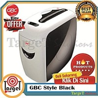 GBC Style Black/Mesin Penghancur Kertas/Paper shredder/Jilid/Cashbox