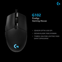 Logitech Prodigy G102 - Mouse Gaming Valuable Logitech