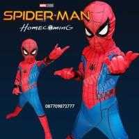 Jual Kostum Spiderman Homecoming anak baju ulang tahun laki home coming Murah