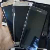 SAMSUNG S7 EDGE DUAL 4G RAM 4GB SECOND FULLSET GARANSI