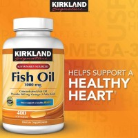 - Best!! Kirkland Signature Fish Oil Concentrate Omega-3 Isi 400 Ed