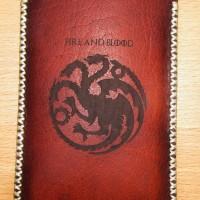 Sarung Kulit HP ( Handphone ) Game of Thrones Premium Leather Handmade