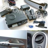 car Asesoris Alarm mobil Keyless Push start Honda Brio Plug n play