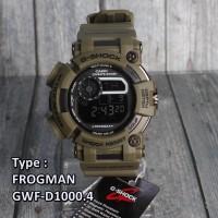 G Shock Frogman Hijau Green Army full digital Jam tangan Pria