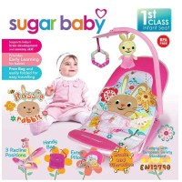 Bouncer Bayi Sugar Baby Infant Seat with Toy Bar - Rossie Rabbit