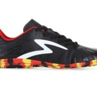 TERLARIS  Sepatu Futsal Specs Tomahawk In - Black/White/Red Original
