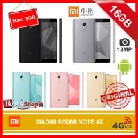 XIAOMI REDMI NOTE 4X 16GB RAM 3GB ( Rose Gold, Gold ) - Garansi 1thn