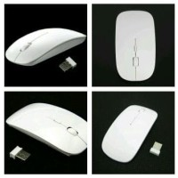 Mouse Ultra Slim Usb Wireless for Computer Laptop PC Ak Limited
